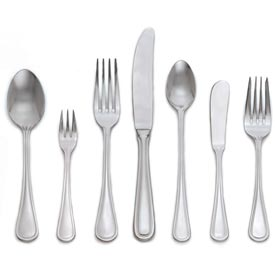 Click here to buy Alegacy 1410 Bouillon Spoon, Regal Pattern Package Count 24.