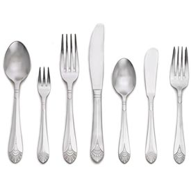 Click here to buy Alegacy 1710 Bouillon Spoon, Duchess Pattern.