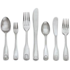 Click here to buy Alegacy 1804 Dessert Spoon, Jewel Pattern.