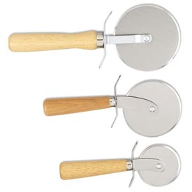 """Alegacy 2004PC Pizza Cutter, Wood Handle, 3 1/2"""" Dia. by"""