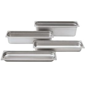 Alegacy 22241L 2 Qt. Half Long Steam Table Pan Package Count 6 by