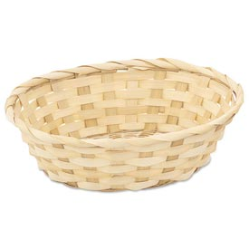 Alegacy 420 Bread Basket, Oval Bamboo Package Count 12 by