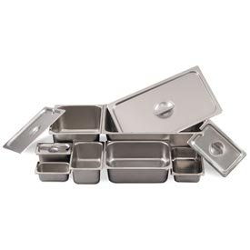 Alegacy 8194 1.125 Qt. 1/9 Size Steam Table Pan Package Count 12 by