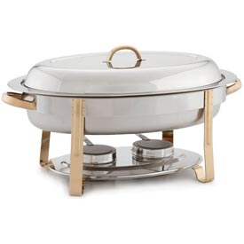 Alegacy AL428GA Oval Chafer, Gold by