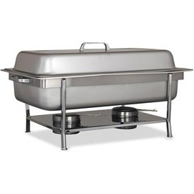 Alegacy AL800HDCA Full Size Top, Shelf Chafer, Hinged Dome Cover by
