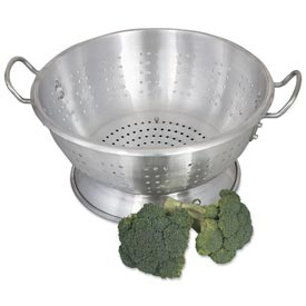Alegacy CA1611 Aluminum Colander, Heavy Duty, 11 Qt. Package Count 2 by