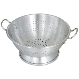 Alegacy CA1616 Aluminum Colander, Heavy Duty, 16 Qt. Package Count 2 by