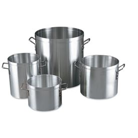 Alegacy EW12 Eagleware 12 Qt. Aluminum Stock Pot, EW12 by