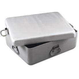 Alegacy HDAS20177 Heavy-Duty Aluminum Roast Pan & Cover-Set, 20-7/8 x 17-3/8 x 7 by