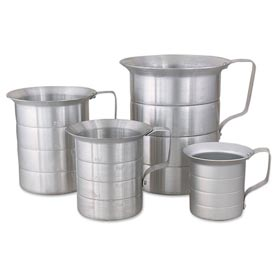 Alegacy ML05 - 1/2 Qt. Aluminum Liquid Measures