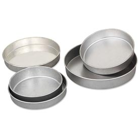 "Click here to buy Alegacy P9020 9"" Layer Cake Pan, 2"" Depth."