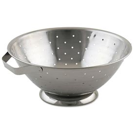 Alegacy R33 Stainless Steel Footed Colander, 8 Qt. Package Count 6 by