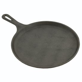 "Click here to buy Alegacy RG9 Cast Iron Round Griddle, 10-1/4""."