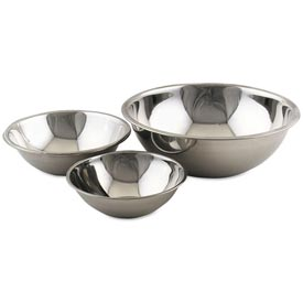 "Click here to buy Alegacy S778 10 1/2 Qt. Stainless Steel Mixing Bowl 15"" Dia. Package Count 12."