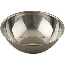 "Click here to buy Alegacy S873 3 Qt. Heavy, Duty Mixing Bowl 9-1/2"" Dia. Package Count 12."