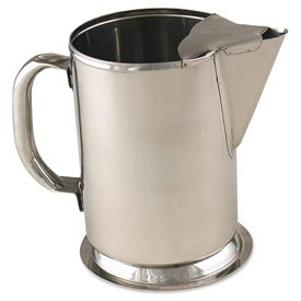 Alegacy S980 Water Pitcher With Ice Bridge Stainless Steel 64 Oz. by