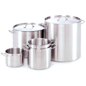 Alegacy SSSP12 - 18/8 Stainless Steel Stock Pot w/ Cover 12 Qt.
