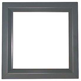 "CECO Door Window Kit, Glass Not Included, 11""W X 11""H"