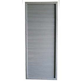 """CECO Door Louver Kit, Galvannealed Steel, Fire Rated, 12""""W X 24""""H"""