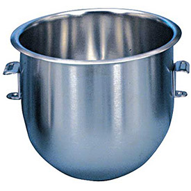 Alfa 10VBWL Mixer Bowl For Hobart 10 Qt. Mixer C100, Stainless Steel, 10 Qt. Mixer by