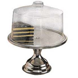 American Metalcraft 19SET Cake Stand & Cover, 13-1/2 Dia. x 7-1/2 High by