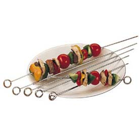 "Click here to buy American Metalcraft 24014 Skewer, 14"" Blade, Loop End."