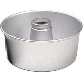"Click here to buy American Metalcraft AFP958 Angel Food Cake Pan, 10"" Dia., 4"" Deep."