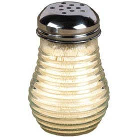 American Metalcraft BEE606 Cheese Shaker, 6 Oz., Glass, W/Stainless Top by