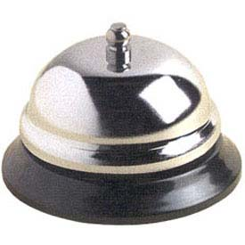 "American Metalcraft CB338 Call Bell, 3-3/8"" Dia., Nickel Plated Steel by"