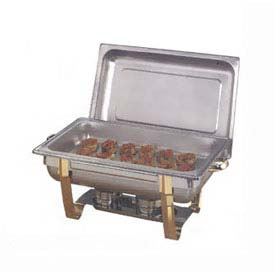 American Metalcraft CDFP88 - Chafer Food Pan, Full Size, Rectangular, For Adagio Chafers