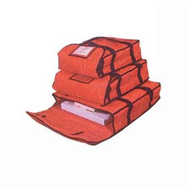 "American Metalcraft PBDX2005 Deluxe Pizza Delivery Bag, 20"" x 20"" x 5"" by"