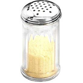 American Metalcraft SAN312 Cheese Shaker, 12 Oz., San Plastic W/ Stainless Steel Top by