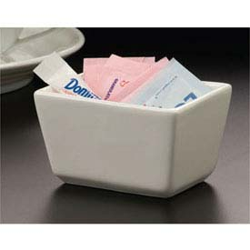 American Metalcraft SPP326 Sugar Packet Holder, 3-1/2 x 2-1/2 x 2, Ceramic by