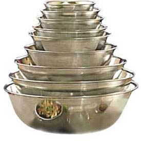 "American Metalcraft SSB500 Mixing Bowl, 5 Qt. Capacity, 11-1/2"" Dia. by"