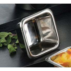 American Metalcraft SSC25 Sauce Cup, 2-1/2 Oz. Capacity, Square by