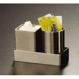 "American Metalcraft SSPH2 Sugar Packet Holder, 2"" Dia. x 2-3/4""H by"