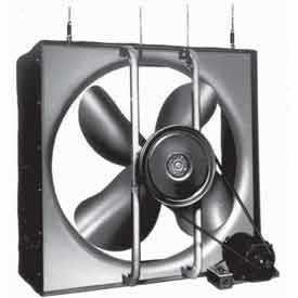"Airmaster 30"" Diameter Whole House Fan Chelsea Model HVB - CFM 7400"