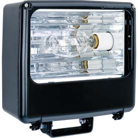 Lithonia TFL 400M RA2 TB SCWA LPI Metal Halide Floodlight w/Lamp 400W Super SCWA Pulse Start Ballast