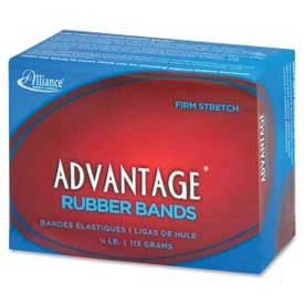"Alliance® Advantage® Rubber Bands, Size # 32, 3"" x 1/8"", Natural, 1/4 lb. Box"
