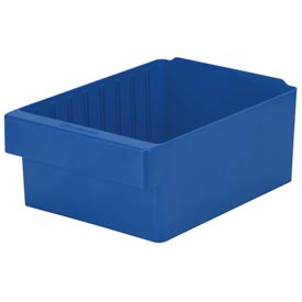 "Akro-Mils Dividable Akrodrawer 31188 - 17-5/8""W x 8-3/8""D x 4-5/8""H, Blue - Pkg Qty 4"