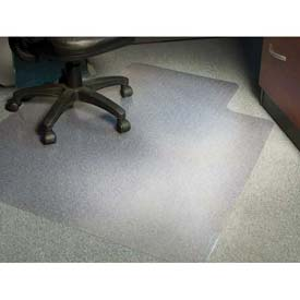 "Aleco® AnchorBar® Office Chair Mat for Carpet - 36""W x 48""L .130"" Thick with Lip - Beveled"