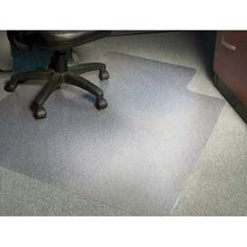 "Aleco® AnchorBar® Office Chair Mat for Carpet - 45""W x 53""L .130"" Thick with Lip - Beveled"