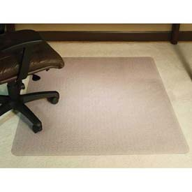 "Aleco® AnchorBar® Office Chair Mat for Carpet - 46""W x 60""L, .130"" Thick - Beveled Edge"