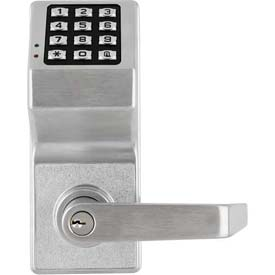Fingertip Programmable Pushbutton Lock 100 Combination Cap