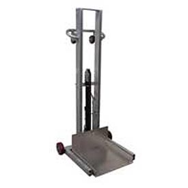 Vestil Aluminum Lite Load Lift ALLPH-500-FW - Foot Pump Operation