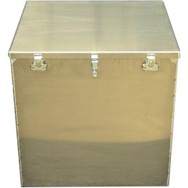 Aluminum Case 1424 Aluminum Big Box Storage, Transit Container - 24 x 22 x 24