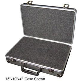 Aluminum Case 156-2 Aluminum Carry Case With Foam Insert - 15 x 10 x 6