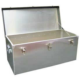 Aluminum Case 2130 All-Welded Aluminum Storage Container - 30 x 13-1/2 x 12-1/4