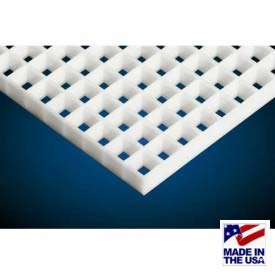 "American Louver Polystyrene Eggcrate Core Panel, White, 24"" x 48"", 1/2"" Cell Size,10 Pack"