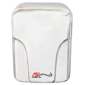 "ASI® Stainless Steel Turbo Hand Dryer - 10-1/16""W - 0197-1-93"